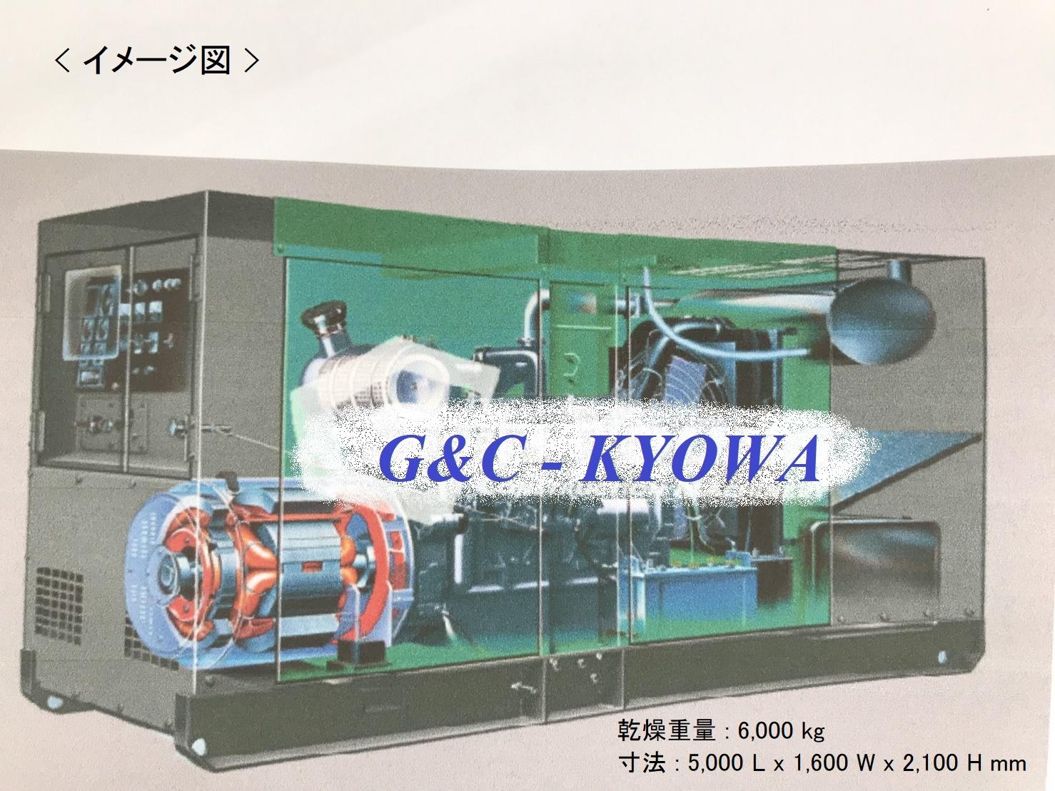 エンジン発電機 - ディーゼル・ハイブリッド (販売・保守・点検)