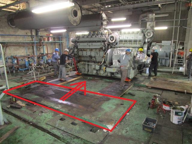 Yanmar 620kVA M200AL-EN 11000kg