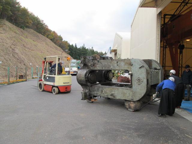 21 ton ハウジングを安全に移動中 (4HI CRM)