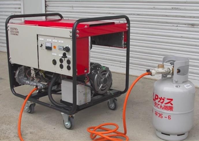 非常用小型LPガス発電機 (エネプロ)