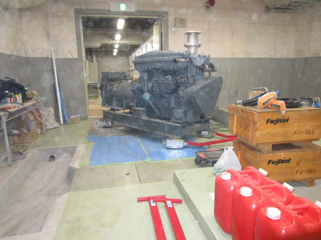 明電舎 発電機 M312HC, 200 kVA, 6600 V