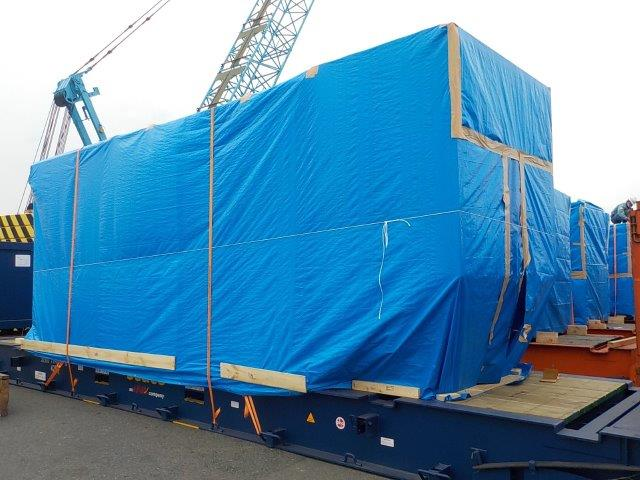40ft Flat Rack Container x 4 CNTR