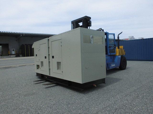 G&C KYOWA 発電機 (KGD500) をデバンします。