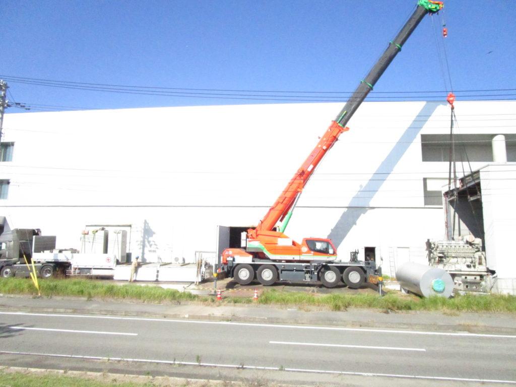 Yanmar 16NTL-ETP, 1500 kVA @Tokushima
