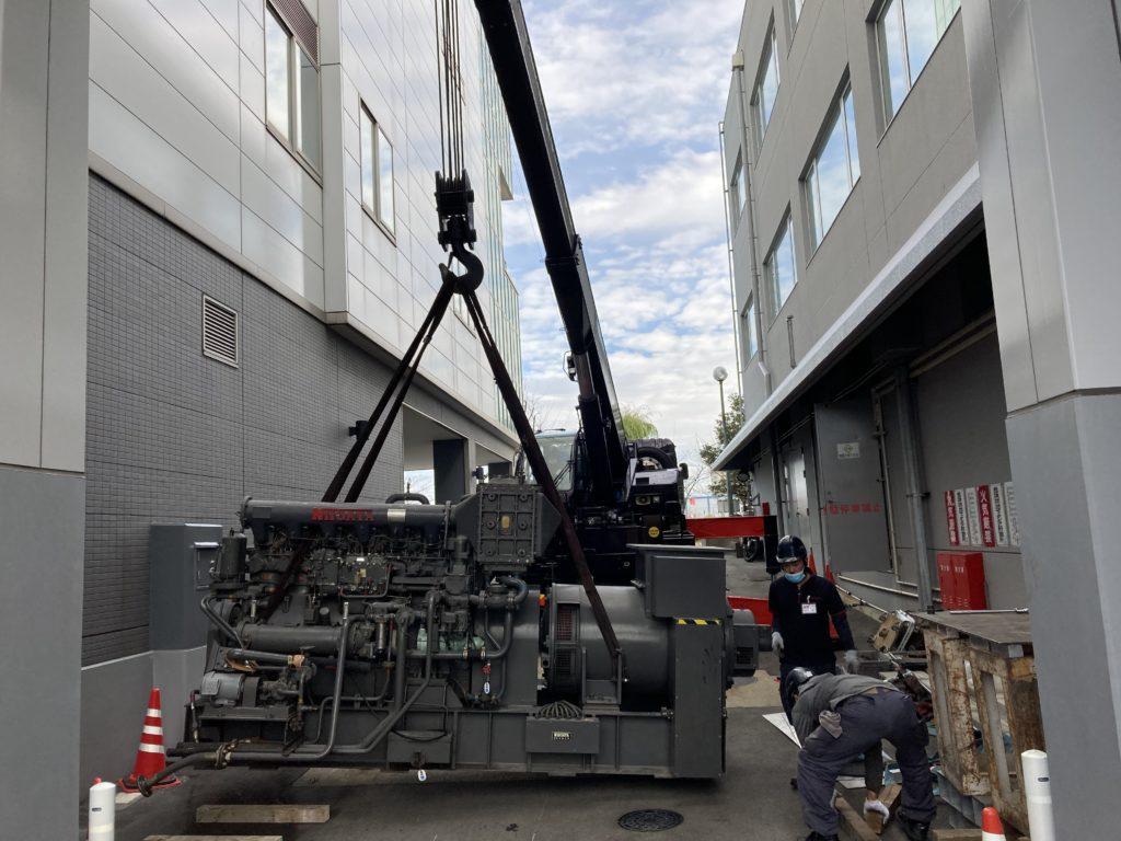 1983年製 Niigata Generator Engine 6L16X-4-01