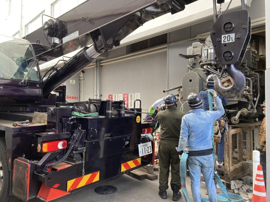 タダノトラッククレーン OC-200N ウインチ付き