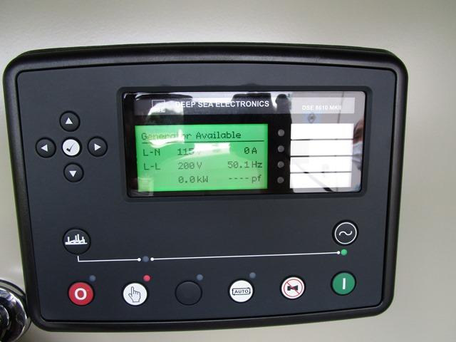 弊社発電機 KGD500 に搭載の DSE8610MKII