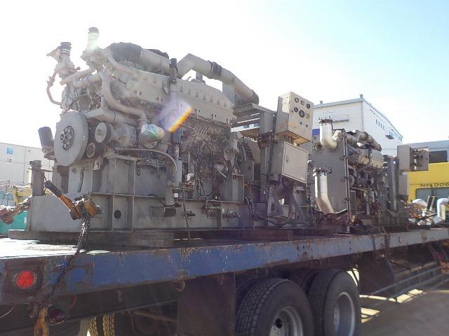 三菱重工業製 仮設型 移動電源車 S12A2-PTA 1237.5 kVA (618.75 kVA x 2 set)