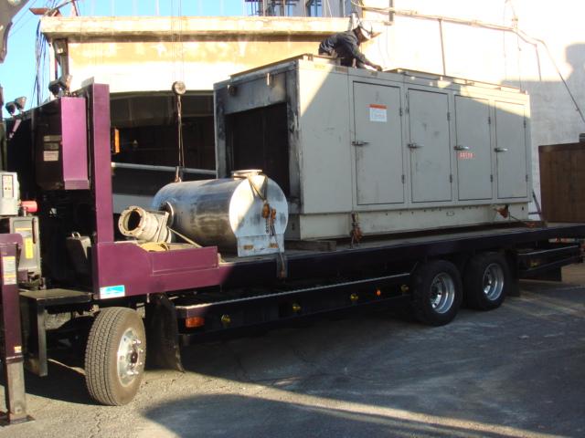 三菱重工業製 仮設型 移動電源車 S6A3-PTA 375 kVA