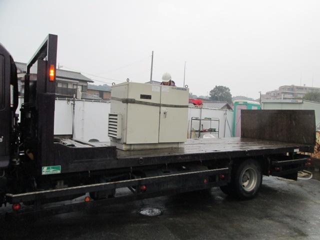 松下電器製 仮設型 移動電源車 D1105 20 kVA