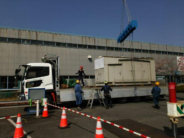 西芝電機製 仮設型 移動電源車 NDP-190 237.5 kVA
