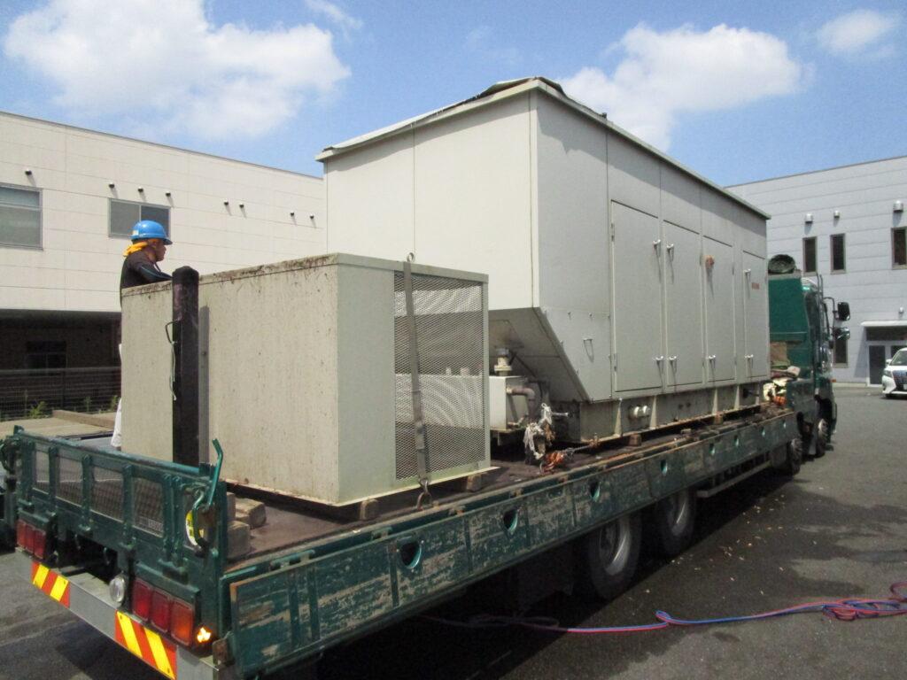 大洋電機製 仮設型 移動電源車 ESG495SK 625 kVA