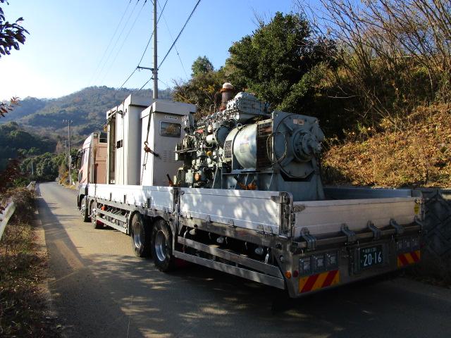 ヤンマー製 仮設型 移動電源車 6NYT6L-UN 400 kVA
