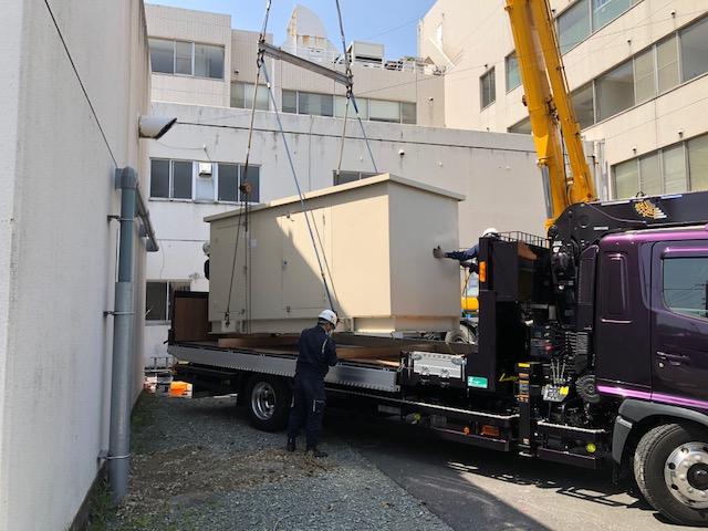 ヤンマー製 仮設型 移動電源車 YAP250E 250 kVA